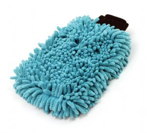Microfibre and Chenille Wash Mitt for car and motorcycles